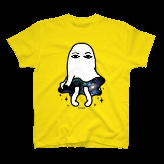 Cɐkeccooのメジェドさん宇宙的サービスv T-shirts