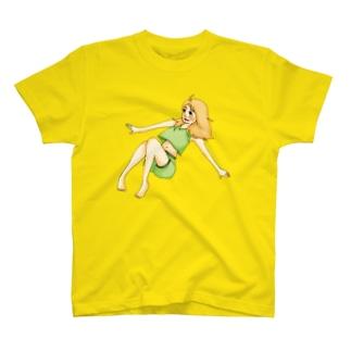 ふわりgirl T-shirts
