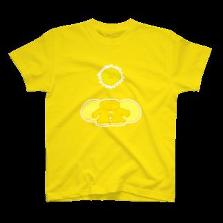 ヒロコイチノセ かみさまショップのてんしと光-HirocoIchinose- T-shirts