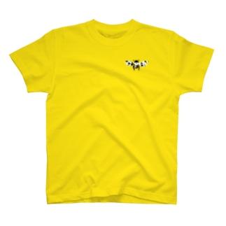 【ハチミツタイムの正装】もふもふ蜂 T-shirts