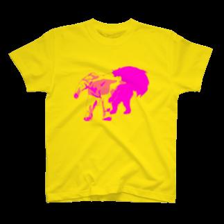 Go Go HenryのGo Go アリクイ T-shirts