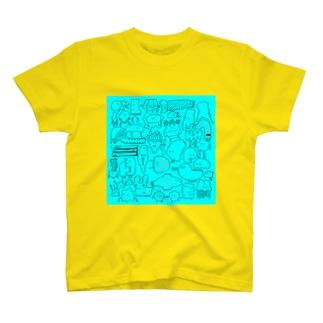 グニョル(水) T-shirts