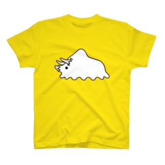 【オバケキョウリュウ】トリケラトプス T-shirts
