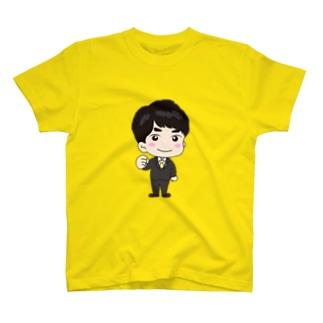 非公式マスコットキャラクター「シンちゃん」みつき議員 T-shirts