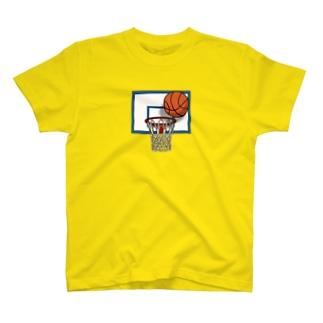 バスケットゴール T-shirts