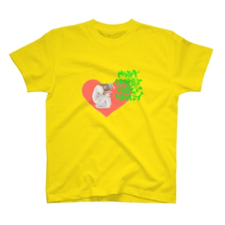 happy charmmy lucky wholly ガーリーおんなのこ T-shirts