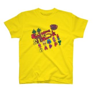 LOVE SHOCK村 T-shirts