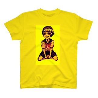 セーラー服の女の子 T-shirts