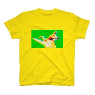 Mix Dog Crazy Tシャツ 雑種犬 カラフル Tシャツ T-shirts