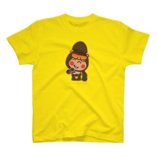 """ぽっこりゴリラ""""嘲笑"""" T-shirts"""