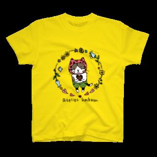 ほっかむねこ屋のチョコねこ T-shirts
