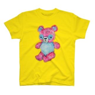 モモイロテディベア T-shirts