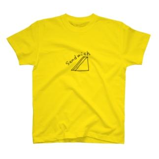 【薄い色用】パン派 T-shirts