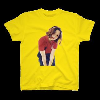ADVENTUREJOURNEYのレトロポップガール🍄-Canon T-shirts
