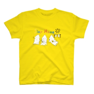 STAY HOME モンゴイカ T-shirts