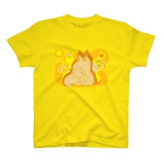 Fox_and_Hearts T-shirts
