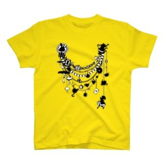 アリスシルエット★モチーフネックレス T-shirts