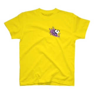 恋するシロクマ公式のTシャツ(グレープ) T-shirts