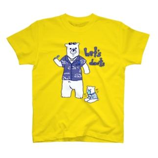 ダーツする白熊さん🎯 T-shirts