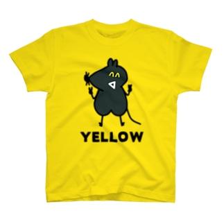 ね子とま太新シリーズ放送記念の(12)YELLOW T-shirts