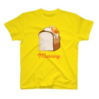 パン(片面焼き) T-shirts