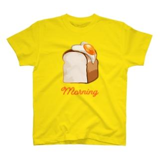 パン(両面焼き) T-shirts