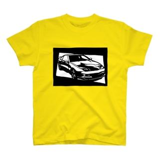 NISSAN フェアレディZ Z32切り絵デザイン2 T-shirts