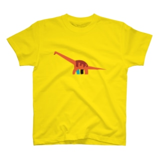 恐竜(ブラキオサウルス) T-shirts