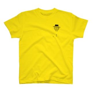 おじ様(黒) T-shirts
