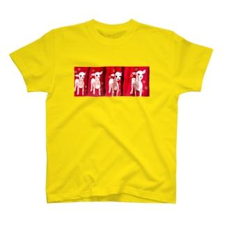 人面子やぎたち T-shirts