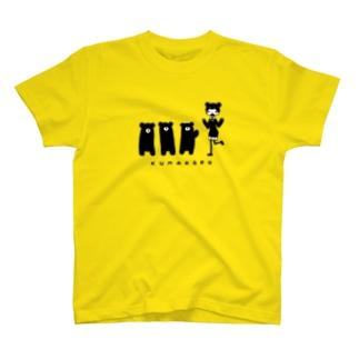クマコロ T-shirts