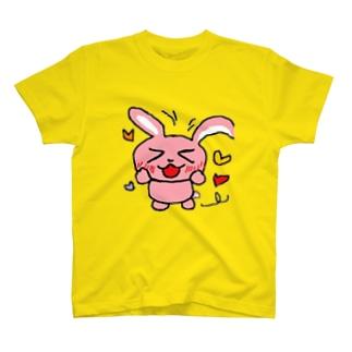 アリサとミニサイズのオモイデのももいろうさぎ② T-shirts