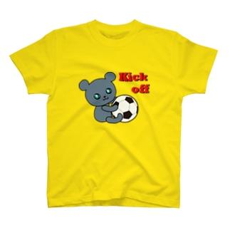 ボランチのこぐま(Kick off) T-shirts