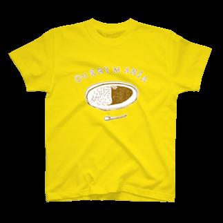 NIKORASU GOのグルメデザイン「カレーマニア」 T-shirts