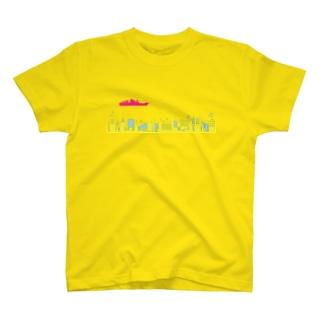 浸水はしていないシャツ T-shirts