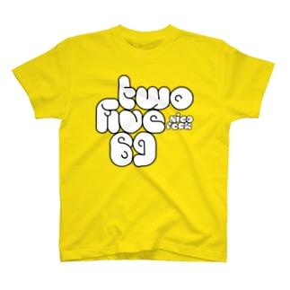 twofive69nicorock T-shirts