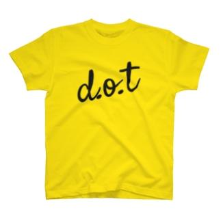 d.o.t【公式】ロゴTシャツ T-shirts