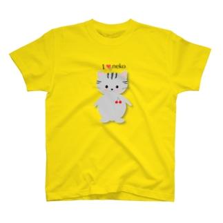 チェリにゃん T-shirts