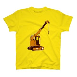 クレーン T-shirts