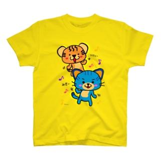 みぎー♪ひだりー♪ T-shirts