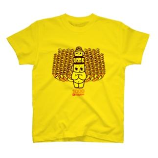 千手観音 T-shirts