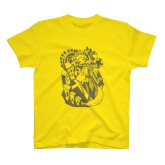 神様が死んだ国色無しver T-shirts