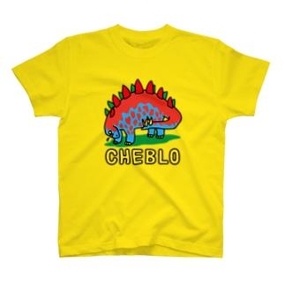 ザウリ 赤青 T-shirts