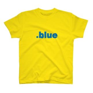 spherulesの.blue T-shirts