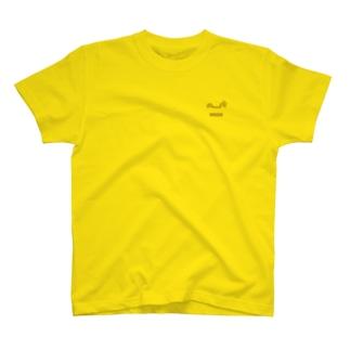 ちゃかえるんるん(薄色用) T-shirts