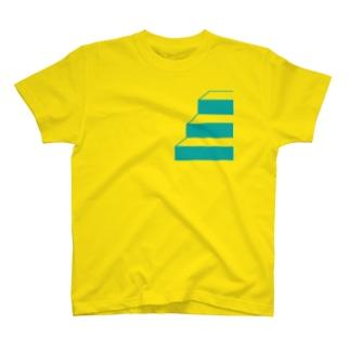 階段Tシャツ T-shirts