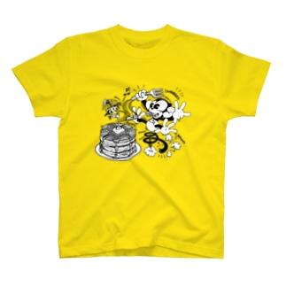 24T №23 ホットケーキ T-shirts