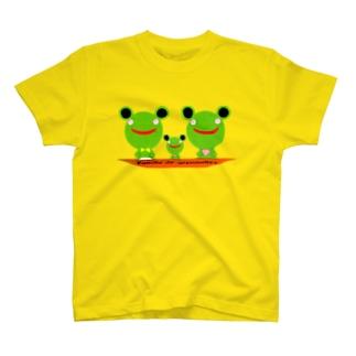 Famille de grenouilles T-shirts
