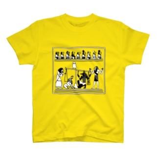 らくがきシリーズ★エジプトの神様たち T-shirts