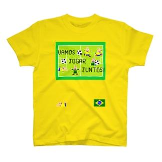 サッカーうさぎさん T-shirts